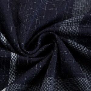 Image 5 - 2020 sıcak gerçek cep vücut geliştirme kısa kollu Polo GÖMLEK erkek ekose Polo yaz Pol Tee gömlek Mens elbise Poloshirt forması 1398