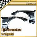 Автомобиль стайлинг Для Hyundai Genesis Rohens Купе 2009 H2-Style FRP Стекловолокно Вентилируемый Переднее Крыло (134x25x80)