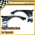Car-styling For Hyundai Genesis Rohens Coupe 2009 H2-Style FRP Fiber Glass Vented Front Fender(134x25x80)