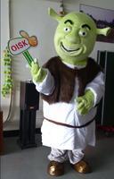 OISK Custom Shrek Mascot Costume Plush Cartoon Character Costumes Outfits Halloween Christmas Fancy Dress