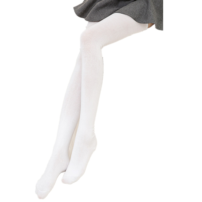 black&white women high quality cotton stockings sexy thigh high over the knee socks for woman thick warm long socks 82cm|Stockings| |  - title=