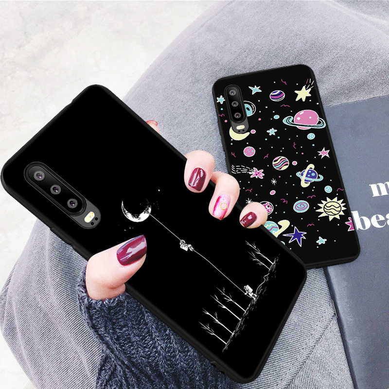Cool Spider Painted TPU Case For Huawei P20 Lite P30 Pro P10 P8 P9 Lite 2017 Cute Pattern Cover For Honor 8A V20 10 9 8 Lite