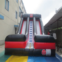 new inflatable bouncers slide playground with CE/UL blower inflatable YLW 180