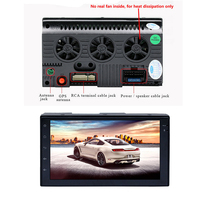 Car Audio Stereo Android Mirror Link Touch Screen 7 Inch FM Radio GPS Navigation 2 DIN 1G 16G 4 Core Bluetooth Wifi