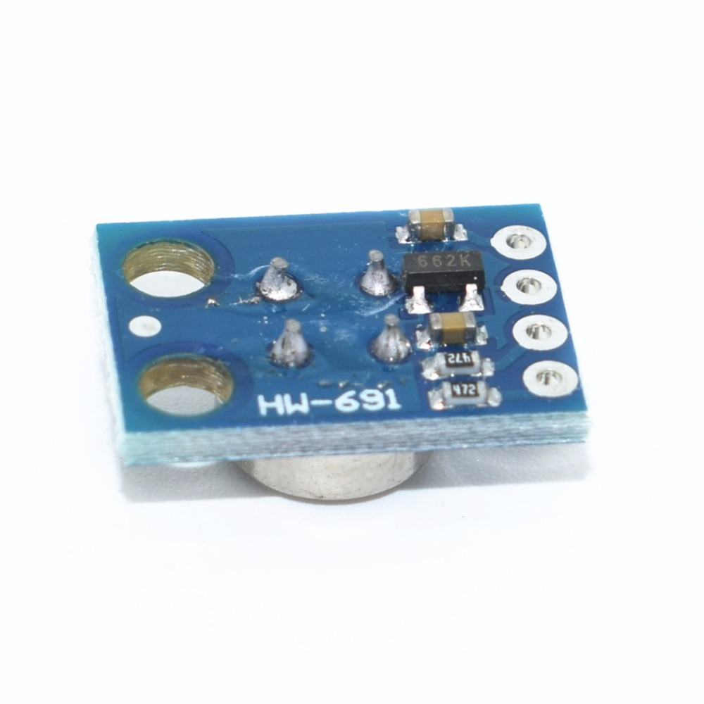 Image 3 - 10pcs/lot GY 906 MLX90614 MLX90614ESF non contact Infrared Temperature Sensor Module IIC Interface IR Sensor GY906-in Integrated Circuits from Electronic Components & Supplies