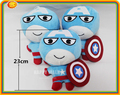 Movie Character Avengers Supper Heroes plush dolls toy 23cm lovely Captain America birthday Kids gift