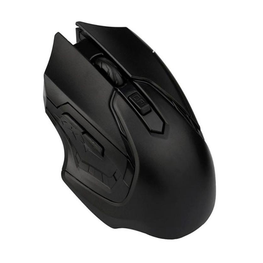 New 1pc 2.4GHz 3200DPI Mouse Gamer Optical Wireless Mouse+ 1PC USB Receiver For Computer PC Laptop fe8