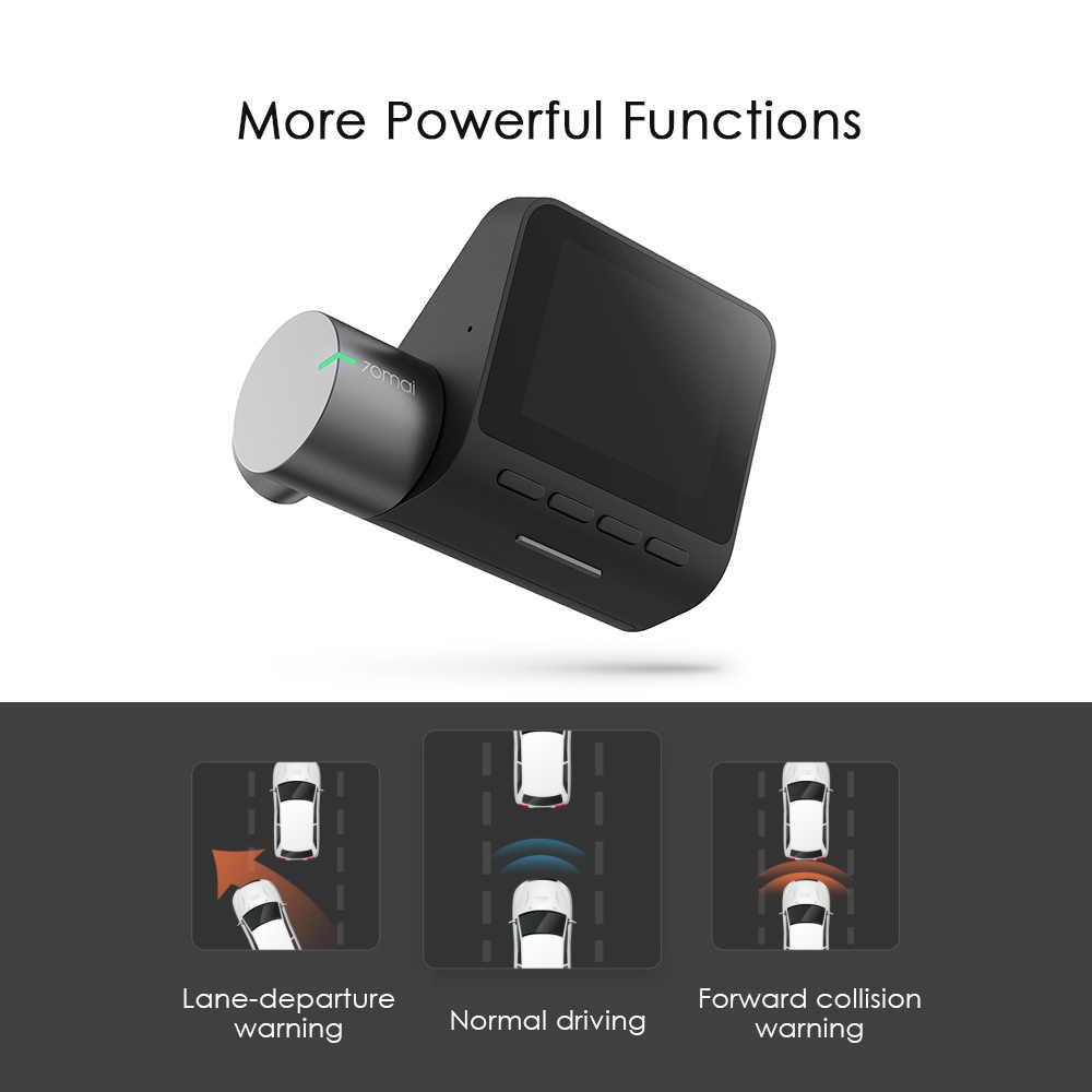 Xiaomi 70mai Pro Dash Cam 1944P GPS ADAS Car DVR Dash Camera 140 Degree FOV Night Version Voice Control English/Russian Version