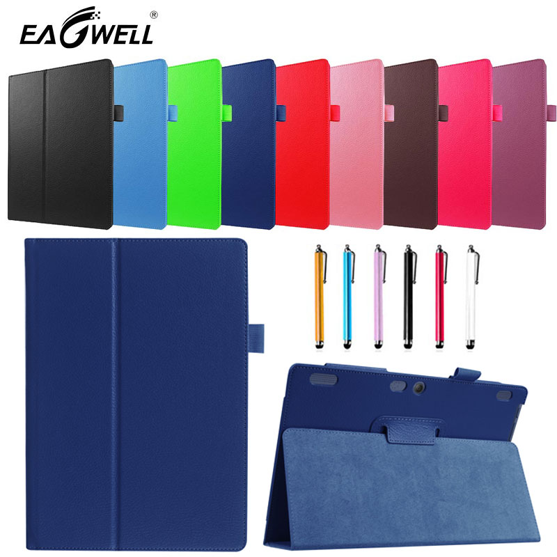 Tablet Case for Lenovo TAB 10 TB-X103F Tab 10 10.1 Litchi PU Leather Folding Flip Case Stand Cover for Lenovo Tab 2 A10-70 case for lenovo tab 4 10 plus protective cover protector leather tab 3 10 business tab 2 a10 70 a10 30 s6000 tablet pu sleeve 10