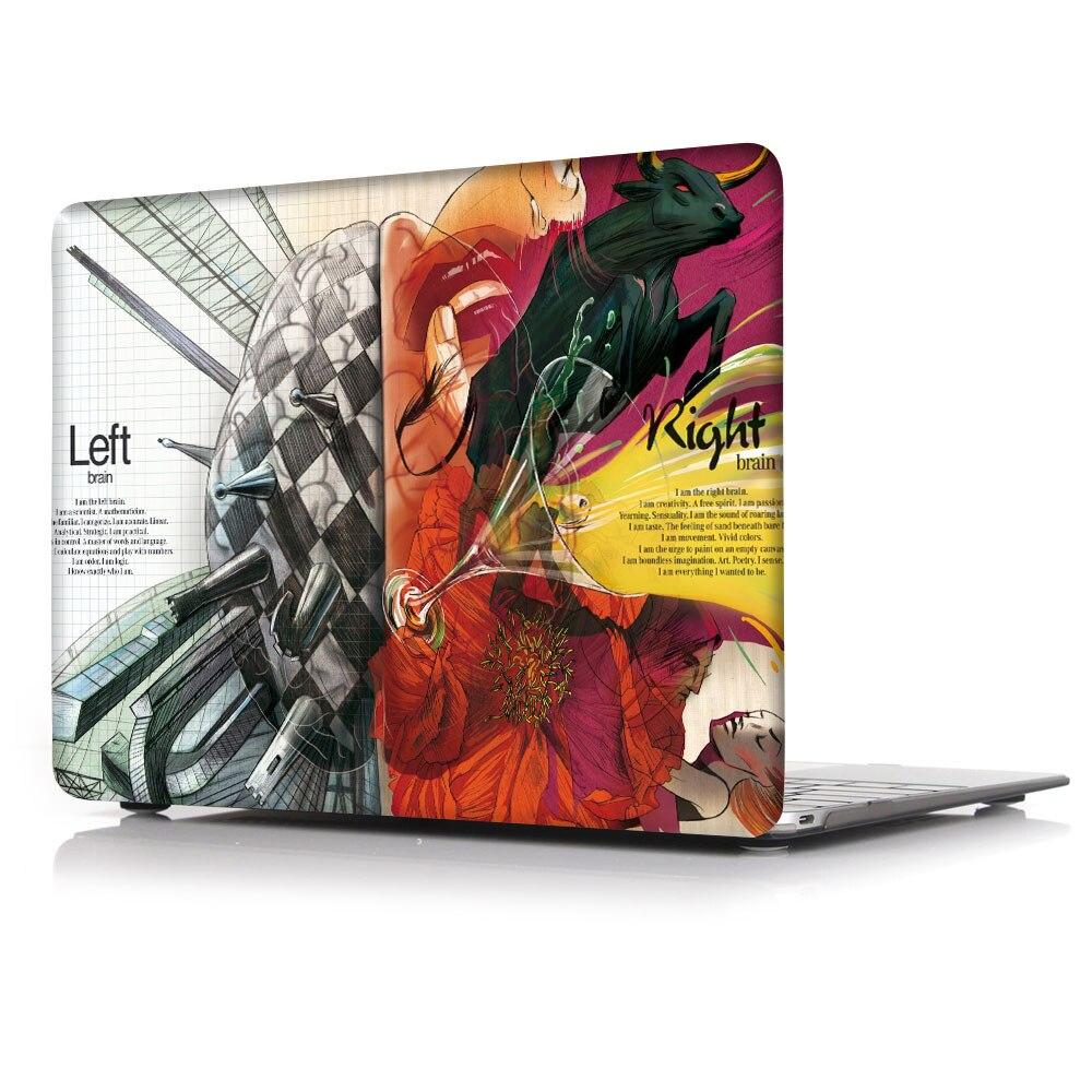 Coque pour ordinateur portable + Couverture de Clavier + Film Ecran Pour 2020 Nouveau 13Pro A2251 A2289 Pour Macbook Pro Retina Touch Bar Air 11 12 13 15 16 pouces