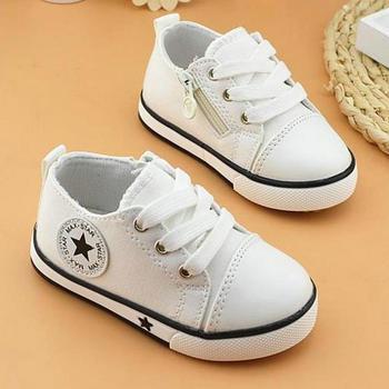 867acf00 Zapatos de lona para niños, niñas, niños, zapatos deportivos suaves  informales, zapatillas