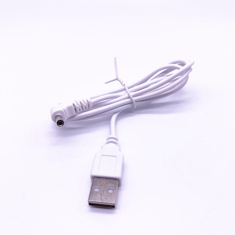 USB A к DC 3,5 мм/1,35 мм 5 вольт DC баррель Jack кабель питания 100 см 3 фута белый/черный