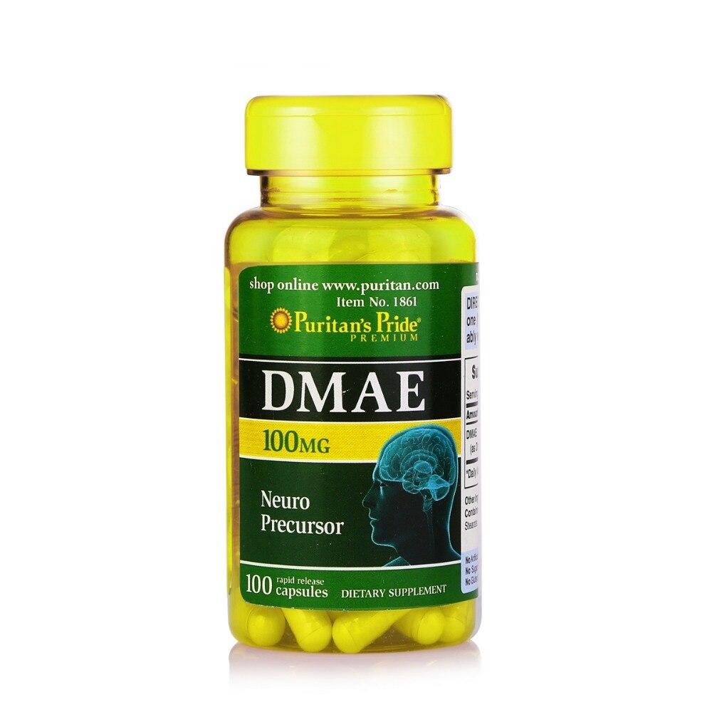 USA DMAE 100 mg-100 Capsules free shipping dong quai 530 mg traditional herb for women 100 capsules free shipping