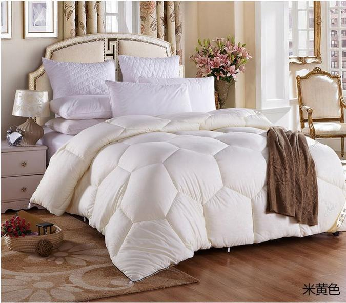 Hot Sale 100 White Super Goose Duck Down Warm Winter Quilt