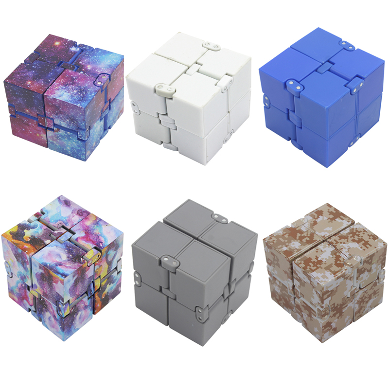 Hazy beauty Infinity Cube Squeeze Fun Magic Cube Toy Gift