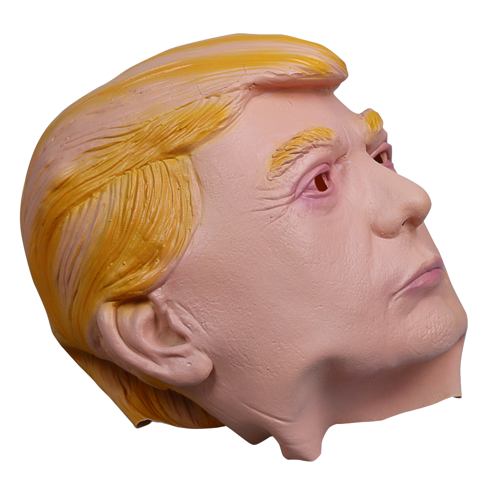 1PC Donald Trump Mask Billionaire Presidential Costume Latex Cospaly Mask For Halloween Party Decorations Ornament (6)