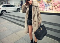 new style warm Faux fur coat Christmas holiday night club celebrity vintage fashion evening party sexy women fur coats wholesale