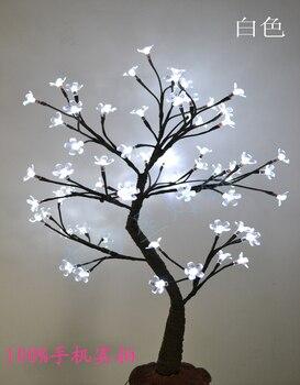 64 LED Cherry Blossom Tree Light in 70cm Height , Holiday blossom tree light, standing cherry tree light wedding decoration фото