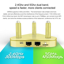 Vonets 750Mbps 802.11AC 2.4G/5.8G Dual Band WiFi Wireless Router Adapter Repeater Range Expander Extender Booster AP Client net