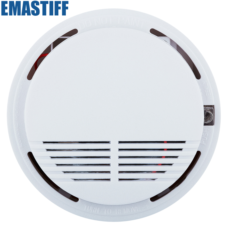 Free Shipping 1pcs Wireless Smoke Fire Detector for Wireless Home Security Auto Dial Alarm System Smog Sensor wireless gsm sms home security alarm system fire smoke alarm alert touch screen free shipping 8 door gap detector
