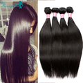 Raw Indian Virgin Hair Straight 4 Bundles Cheap Human Hair Bundles 3Pcs Indian Straight Human Hair Extensions Rosa Hair Products