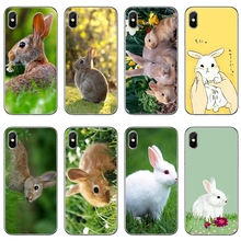 Funda de teléfono suave blanco gris bebé conejos para Huawei P20 P10 P9 P8 pro Lite plus pro P Smart Mini GR5 nova 2i