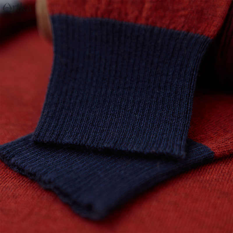 Wanita Crewneck Panjang Artkas Gaya Rajutan Kasmir Sweater Dan Pullover Wanita Musim Gugur Musim Dingin Trendy Hangat Jumper Tarik Feme