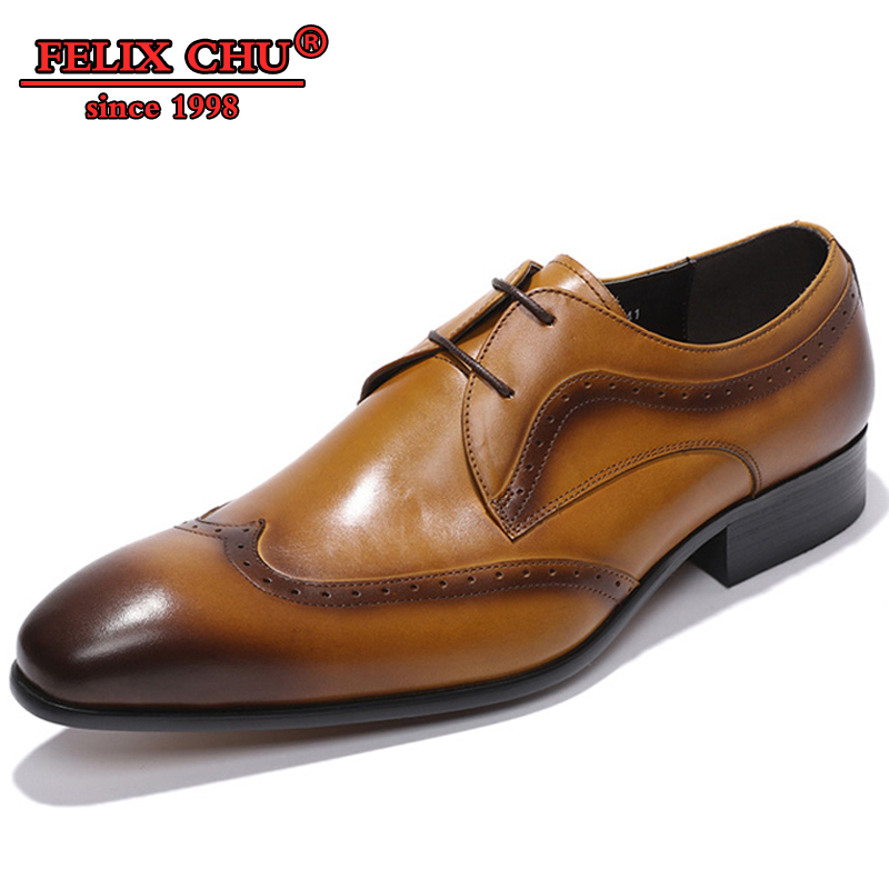 ITALIAN DESIGNER FORMAL MEN LEATHER SHOES BROWN NEW FASHION  WINGTIP BROGUE LACE UP OXFORDS WEDDING SHOES MEN GENUINE LEATHERITALIAN DESIGNER FORMAL MEN LEATHER SHOES BROWN NEW FASHION  WINGTIP BROGUE LACE UP OXFORDS WEDDING SHOES MEN GENUINE LEATHER