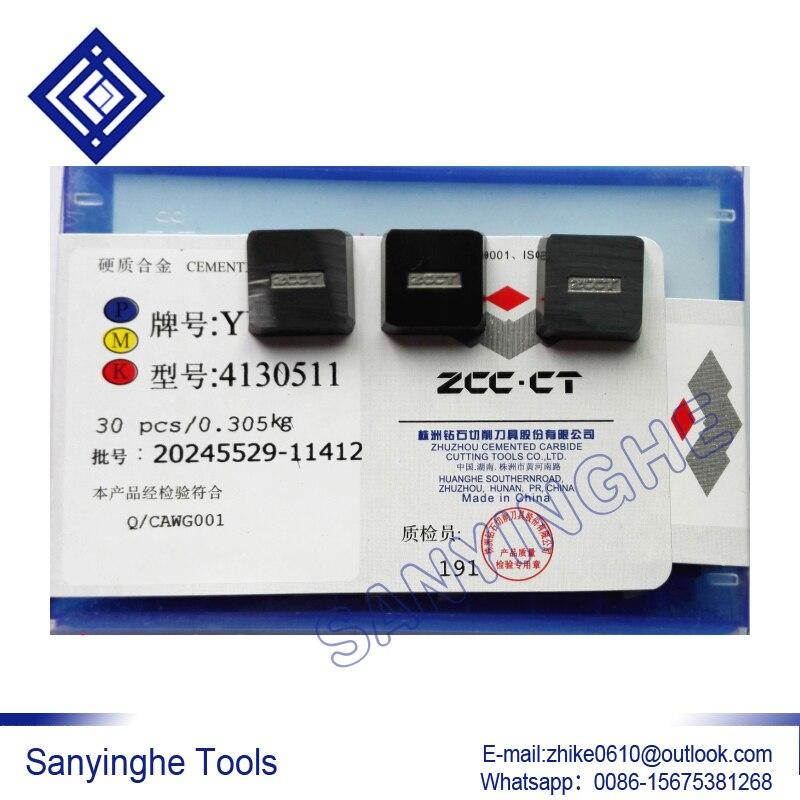 4130511 YG6/YG8 envío gratis sanyinghe de alta calidad 30 unids/lote insertos de torneado de carburo cnc insertos de soldadura