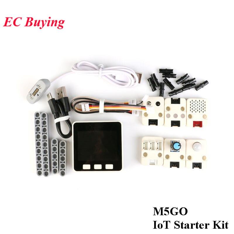Kit de démarrage IoT M5Stack M5GO Kit de développement IoT carte de développement ESP32 bricolage pour Arduino