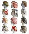 Envío Libre 100% Tapas Del Sueño de Seda de Mora Pura Dormir Cap Sombreros Showr Caps Floral Impreso de Color Para Elegir