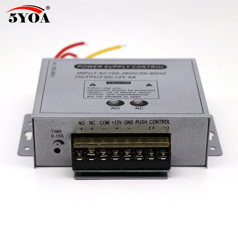 Access Control Official Website Dc12v Door Access Control System Switch Power Supply For Rfid Fingerprint Access Control Device