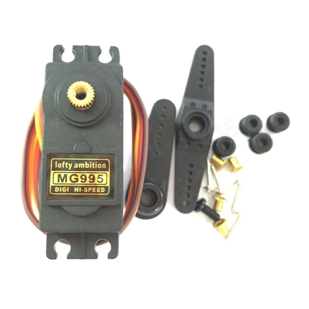 Original lofty ambition Servo MG995 Metal Gear High Torque Servo For HPI XL Helicopter/Car/Boat 1x free shipment original factory high torque servo 15kg ds3115 servo metal gear digital standard servo for rc car boat plane
