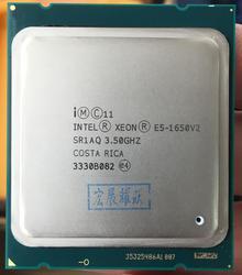 Процессор Intel Xeon E5 1650 V2 E5-1650 V2 cpu LGA 2011 серверный процессор 100% исправно работающий процессор для настольных ПК E5-1650V2