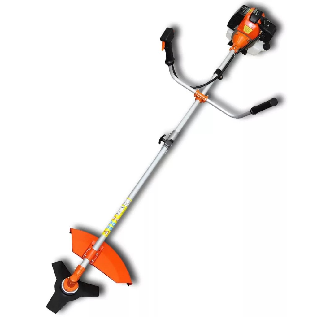 VidaXL Brushcutter For All Light And Difficult Cutting Convenient Storage Safety Brushcutter Thick Brambles Shrubs Brush Cutter