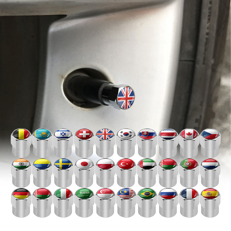 4pcs-set-car-motorcycle-bicycle-automobiles-wheel-tire-valve-caps-dust-cover-metal-national-flag-emblem-car-styling-accessories