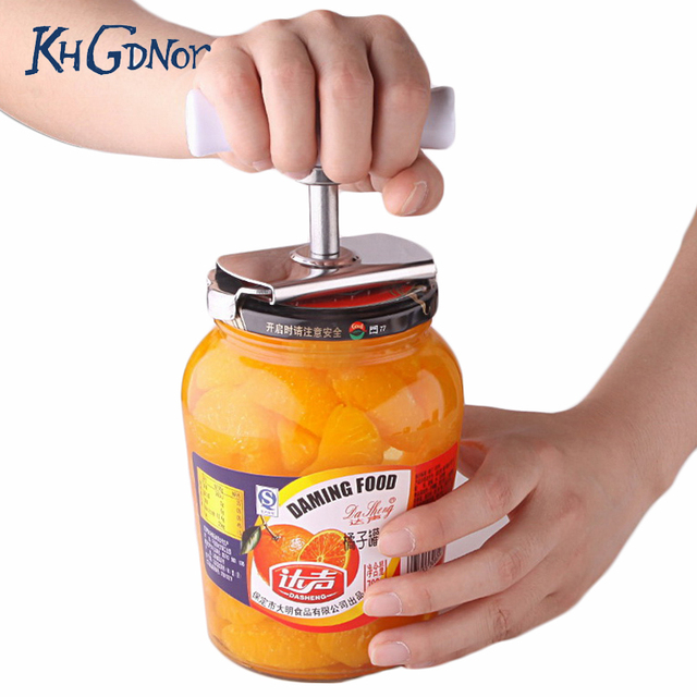 Free Size Screw Cap Bottle Wrench Stainless Steel Power-saved Opener Can Bottle Tin Cap Open Wrench