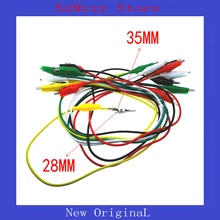 10PCS/lot Medium Alligator Clips Electrical DIY Test Leads Alligator Double-ended Crocodile Clips Roach Clip Test Jumper Wi 2 pcs sheathed alligator clips electrical diy test leads alligator double ended crocodile clips roach electrical jumper wire