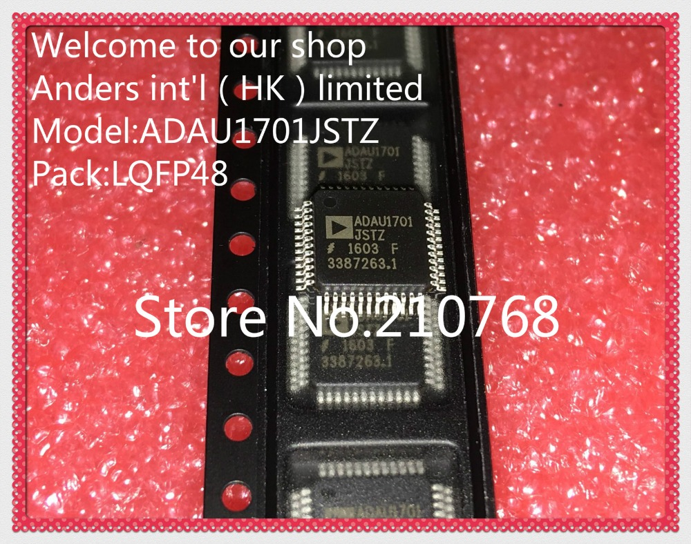 10pcs lot ADAU1701JSTZ ADAU1701JST ADAU1701 LQFP48