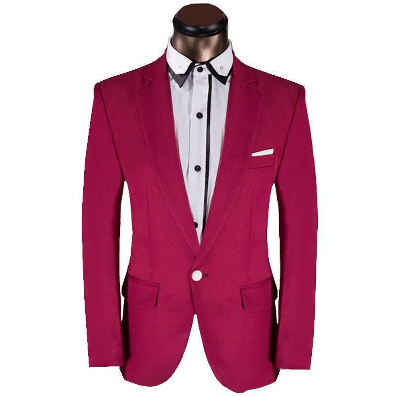 Dark Pink Tuxedo: 2015 New Arrival Mężczyźni Garnitur Projektowania Mody