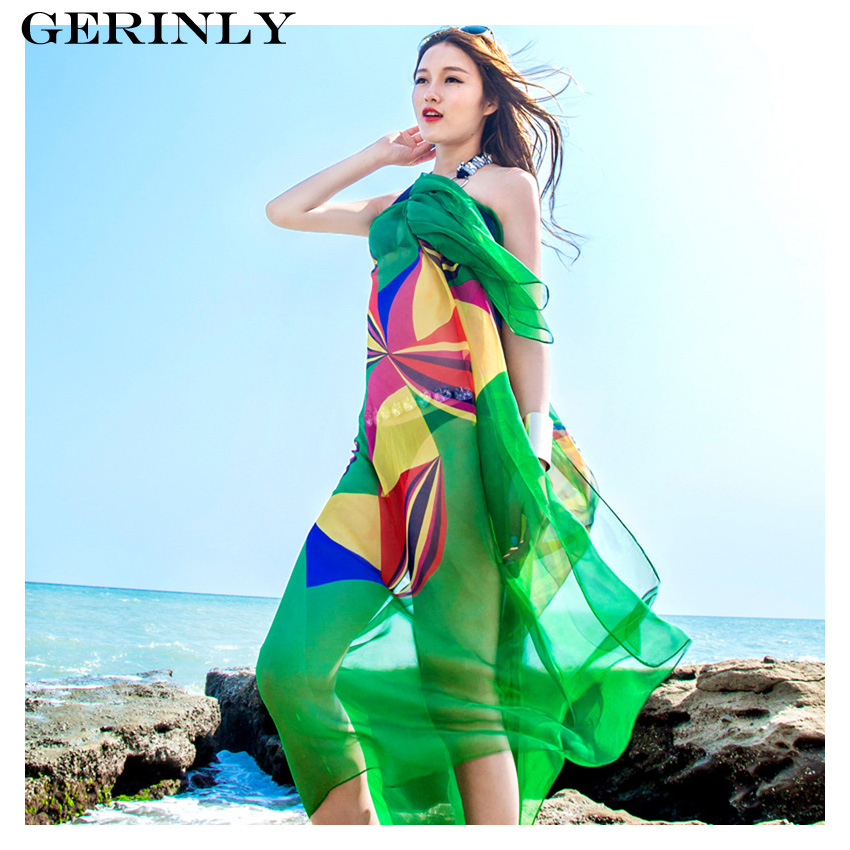 6cbe960583 Scarves & Wraps Clothing, Shoes & Accessories Charm Women Chiffon Beach  Bikini Cover Up Wrap Scarf Pareo Swimwear ...