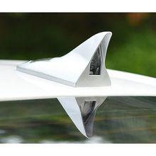 Солнечная энергия автомобиля в форме плавника акулы кровельная антенна светодиодный автомобильный Предупреждение вспышка задний светильник для всех автомобилей
