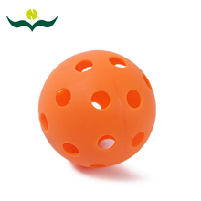 wujifeng popular in the world entertainment floor hockey balls colorful pvc material professional floor hockey balls #160709_w47