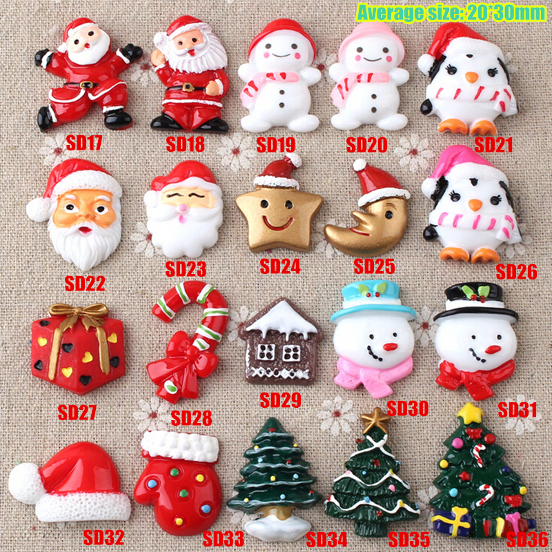 Aliexpress.com : Buy Diy decoration small craft resin christmas ...