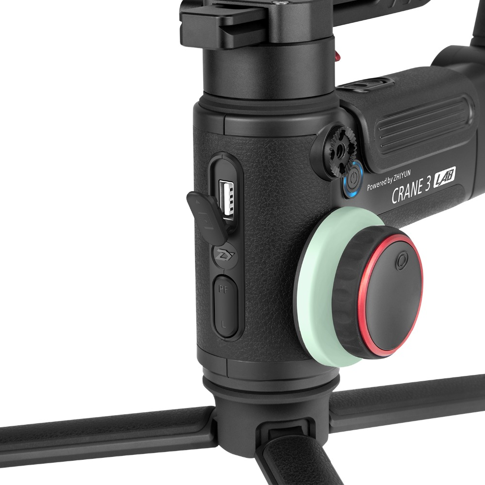 Image 5 - ZHIYUN Official Crane 3 LAB 3 Axis Handheld Gimbal Wireless 1080P FHD Image Transmission Camera Stabilizer for DSLR VS Crane 2-in Handheld Gimbals from Consumer Electronics