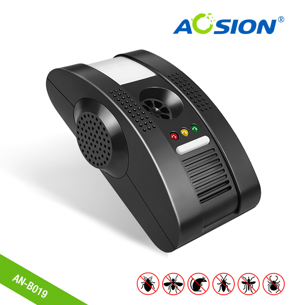 Aosion electronic pest repeller 4 in 1 ultrasonic mouse mosquito spider cockroach control repellent