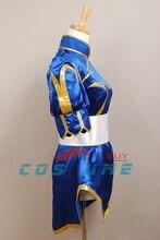 Street Fighter Chun Li Cosplay Costume For Women