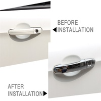 ABS Chrome Door Handle Cover Decoration Car Styling Accessories For Ford Focus MK2 2005 2014 MK3