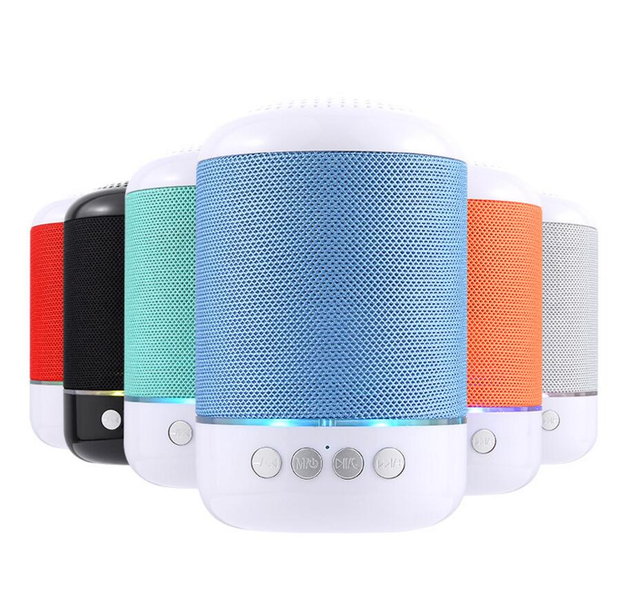 Mini Wireless Bluetooth Speaker Portable Super Bass Loudspeaker Music Player With HD Mic Support TF Card USB Disc Play