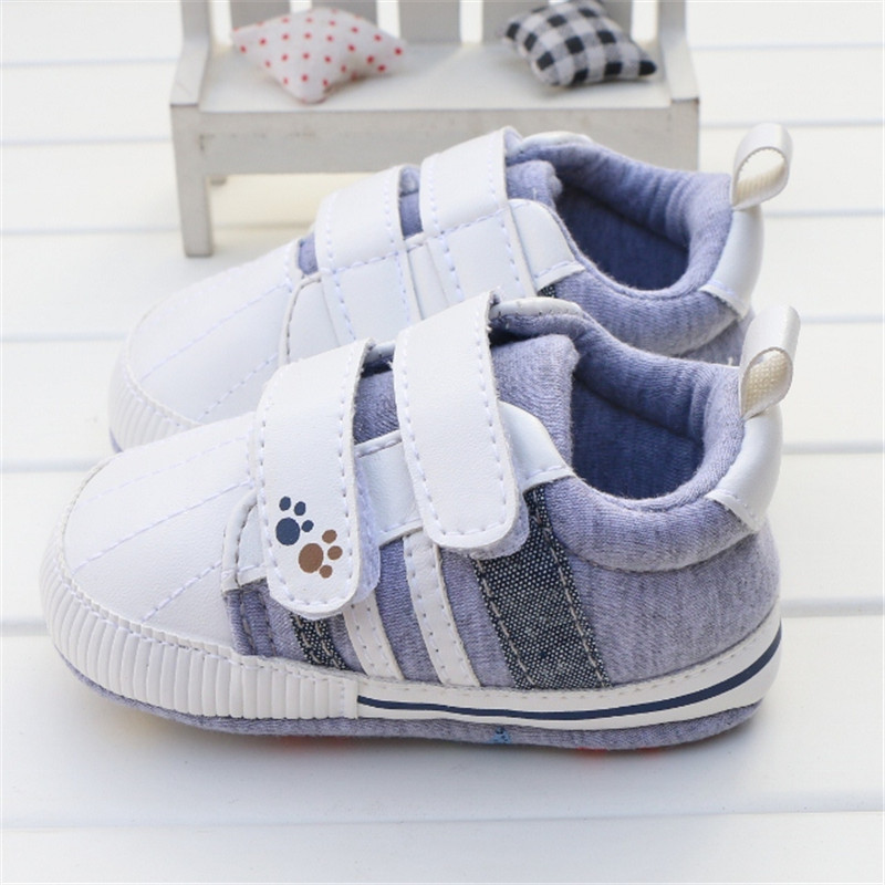 2016 New Baby Boy Shoes Good Quality Grey Two Strap New ...